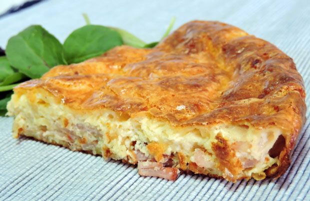 quiche sans p 226 te aux lardons weight watchers recette weight watchers