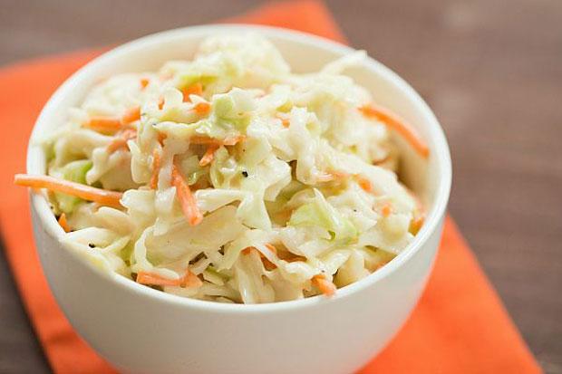 Salade Coleslaw Facile Weight watchers