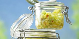 Salade d'ananas et concombre Weight Watchers