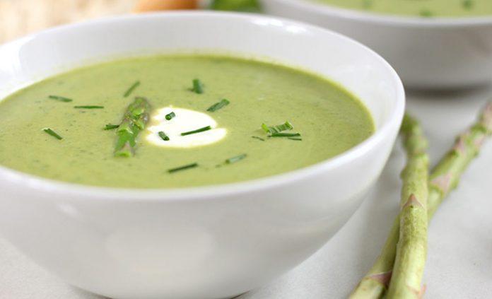 Soupe aux légumes verts Weight Watchers