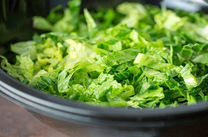 Chiffonnade de salade avec Thermomix