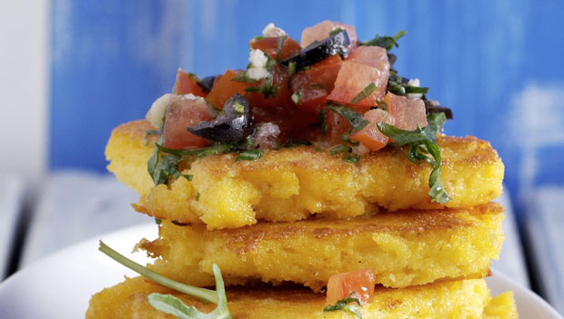 Tranches de polenta Weight Watchers