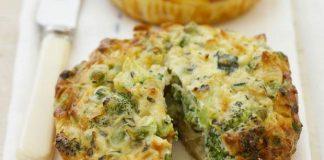 Quiche sans pâte aux brocolis Weight Watchers