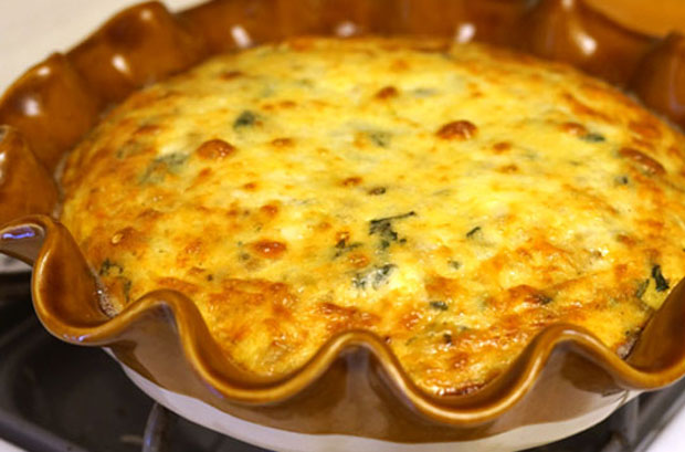 quiche sans p 226 te au poulet weight watchers recette weight watchers