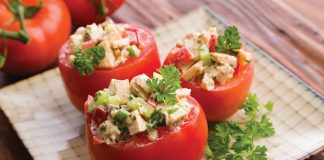 Tomates Crues farcies Weight Watchers