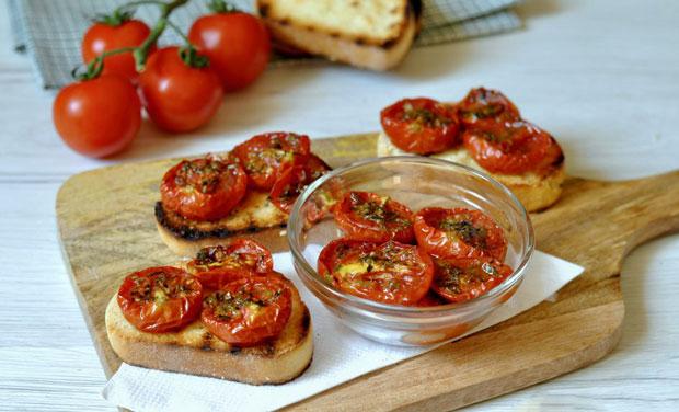 Tomates confites au four Weight Watchers