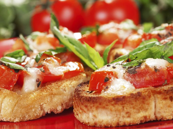 bruschetta tomates mozzarella recette weight watchers. Black Bedroom Furniture Sets. Home Design Ideas
