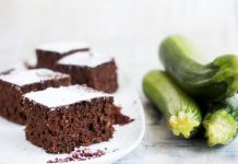 Gâteau au Chocolat et Courgettes Weight Watchers
