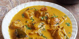 Poulet au curry et au lait de coco Weight Watchers
