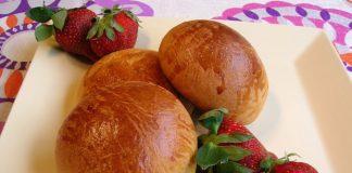brioches individuelles légères au fromage blanc