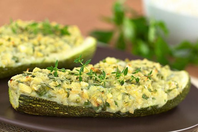 courgettes gratinées Weight watchers