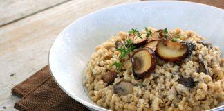 Risotto de jambon et de champignon avec Cookéo