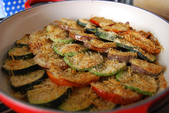 Gratin de légumes Weight Watchers