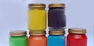 Peinture pour enfants au Thermomix