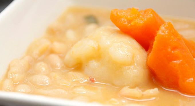 Ragoût d'haricots blanc et de légumes avec Thermomix