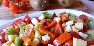 Salade de kiwi et tomate Weight Watchers