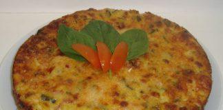 Flan de poulet aux légumes léger
