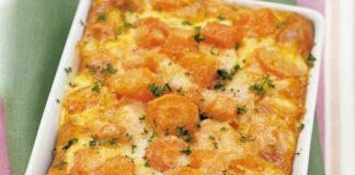 Gratin de carottes léger