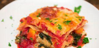 lasagne aux légumes légère