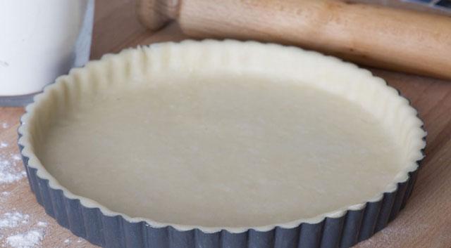 Pâte brisée légère au fromage blanc 0%