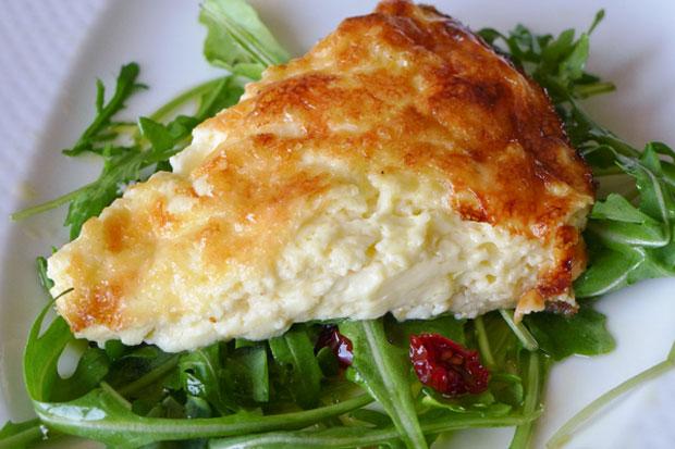Quiche sans pâte au fromage Weight Watchers