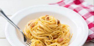 Spaghetti à la Carbonara légère