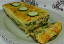 Invisible de courgettes au saumon Weight Watchers