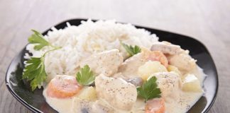Blanquette de veau légère Weight Watchers