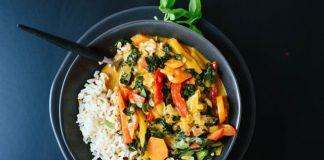Légumes au curry légère