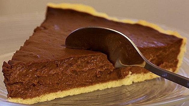 Tarte au chocolat à la châtaigne avec Thermomix