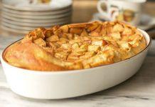 Clafoutis aux pommes et à la cannelle Weight Watchers