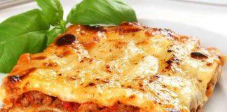 Lasagne à la bolognaise Légère