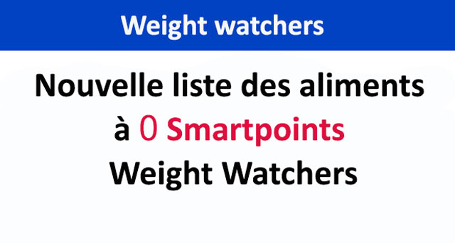 nouvelle liste des aliments 0 smartpoints weight watchers. Black Bedroom Furniture Sets. Home Design Ideas