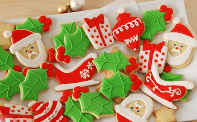 Sablés de Noël décorés au glaçage au Thermomix , Recette