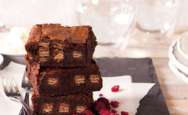 brownies Kit kat avec Thermomix