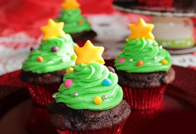 Cupcakes sapin de Noël au Thermomix