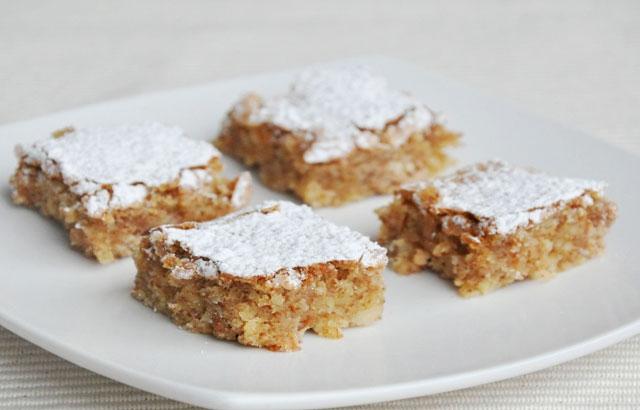 gâteau d'amande sans farine au Thermomix