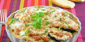 Gratin d'aubergine à la mozzarella Weight Watchers