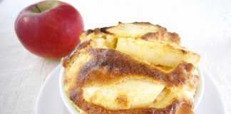 soufflé aux pommes Weight Watchers