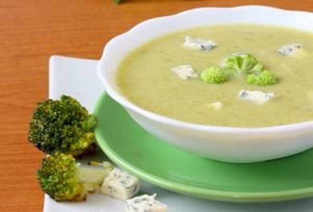 Soupe de brocoli au fromage bleu Weight Watchers