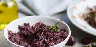 Tapenade aux olives noires au Thermomix