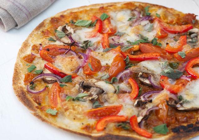 Wraps façon Pizza léger