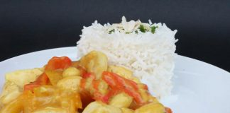 Aiguillette de poulet au curry Weight Watchers