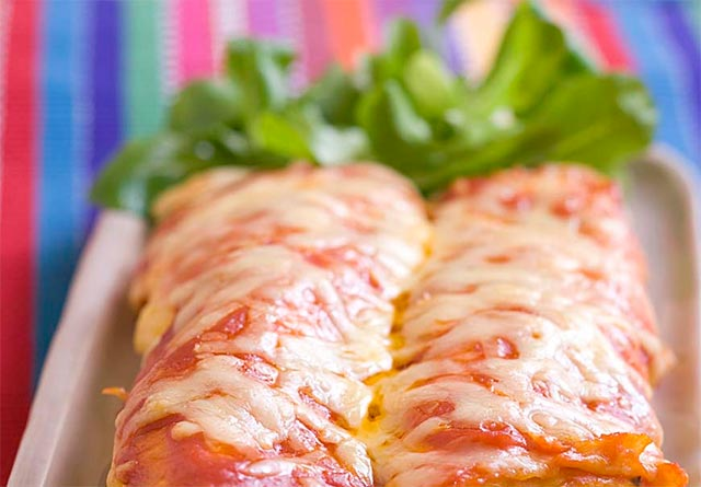 Enchiladas au fromage