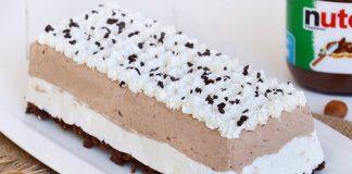 Bûche glacée vanille chocolat avec Thermomix