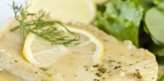 filets de poisson à la sauce au citron au Thermomix