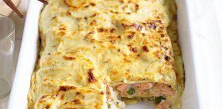 lasagnes au saumon légères
