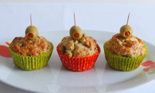 Muffins au chorizo et olives vertes au Thermomix