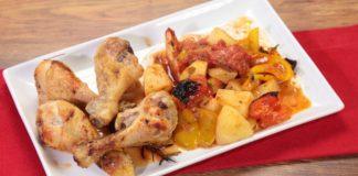 cuisses de poulet aux légumes WW