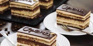 Gâteau Opéra au Thermomix
